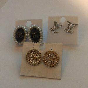 3 Pairs Earring Bundle